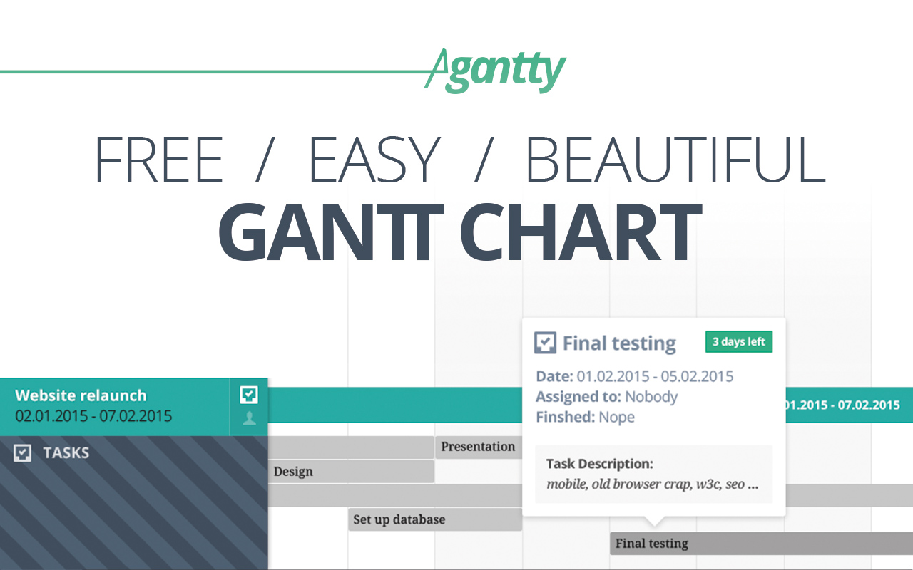 free gantt chart project management tool